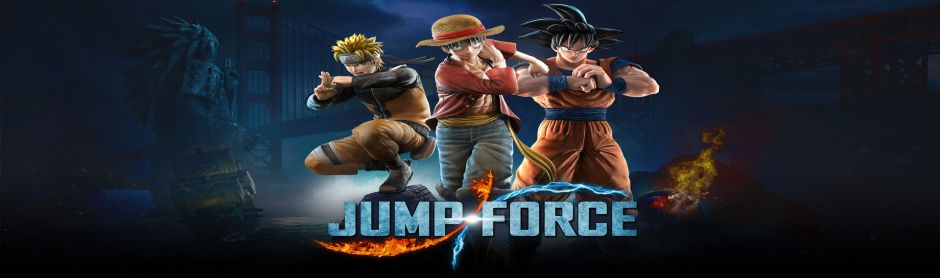 Banner Jump Force