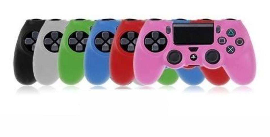 9d8521ef196f5 Capas De Silicone Para Controle Ps4 Multicolor - FOX Games