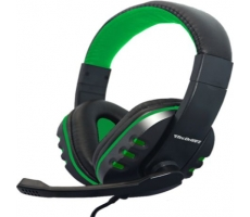 Headset Gamer Xp F-12 Preto/verde Tecdrive