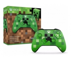 Xbox One Ac Controle Wireless Minecraft Creeper