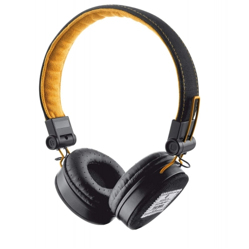 Headphone Fyber Trust Preto/laranja
