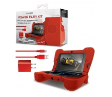 Case Power Play Kit Dreamgear Vermelho