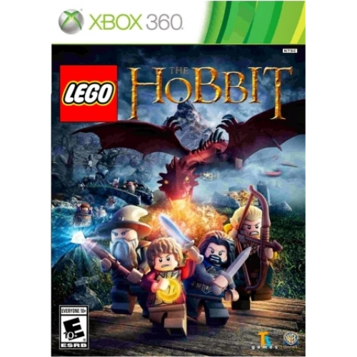 Lego The Hobbit + Blueray The Hobbit The Movie